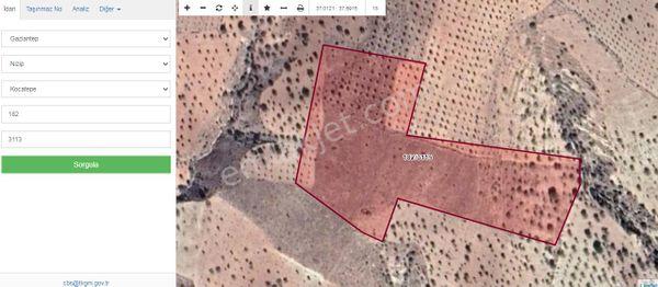 Sahibinden  nizip kocatepe  25900  m2  arazı