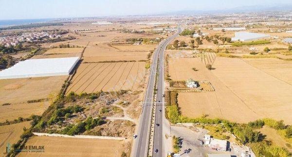 MANAVGAT D400'e SIFIR 11.112 m2 RUHSATLI PETROL YERİ