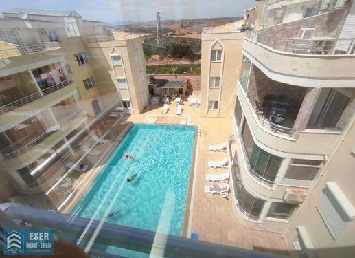 Didim'de site içerisinde 3+1 havuzlu kiralık dubleks