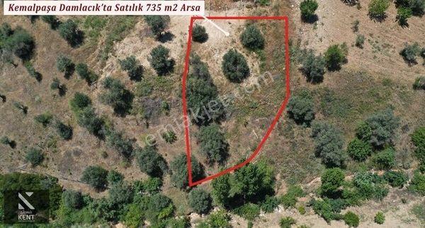 Kemalpaşa Damlacık'da Satılık Tapulu 735 m2 Bahçe
