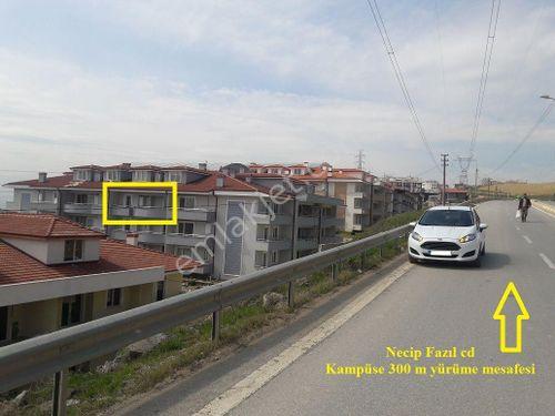 ÇİFTÇİ EMLAK'tan KAMPÜSE YÜRÜME MESAFESİ EŞYALI 100 M 2+1  ARAKAT
