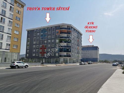 ÇANAKKALE İSMETPAŞA MH. TROYA TOWER ARAKAT KİRALIK 1+1 DAİRE !!