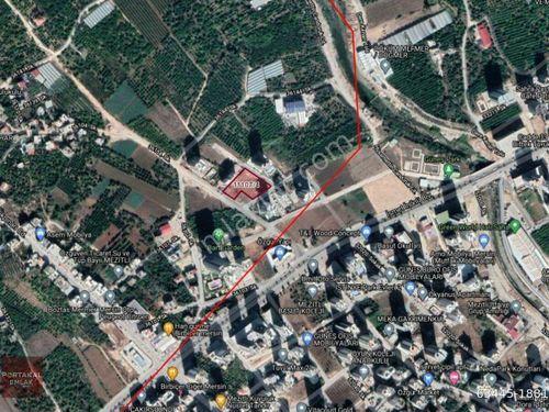 Mersin Portakal Emlak'tan Mezitli Kuyuluk'da İmarlı Satılık Arsa