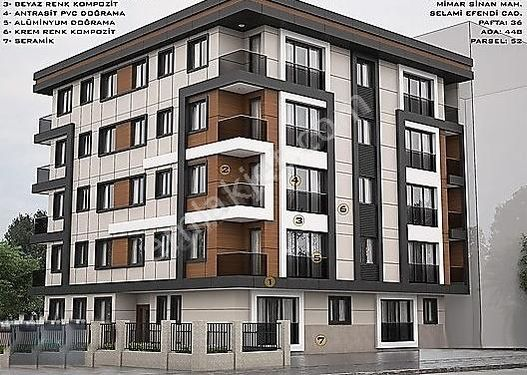 BİRLİK'DEN SIFIR BİNADA TAM MERKEZDE OTOPARKLI 1+1 70 m2 DAİRE