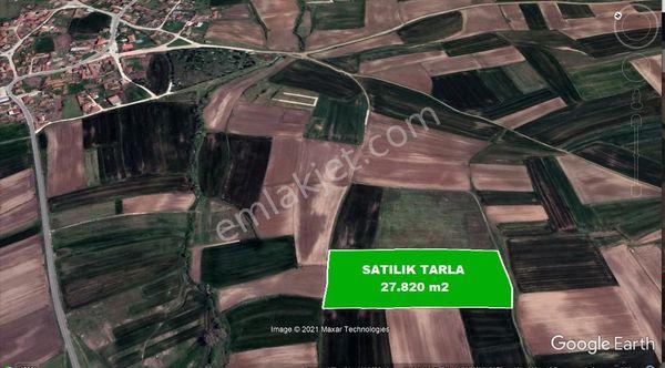 KAPAKLI KARLI MAH YERLEŞİME YAKIN SATILIK TARLA ( 27.821 m2 )