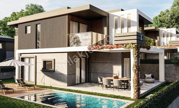 Kuşadasında Kasım Teslim Özel Havuzlu Satılık 4+1 Villalar.