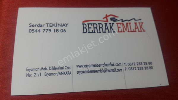 ERYAMAN MAHALLESİNDE SATILIK 2 KATLI İŞYERİ / BERRAK EMLAK