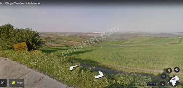 Arnavutköy  Yassıören,de Satılık Arsa , 388 M2 İmarlı Alan İçinde