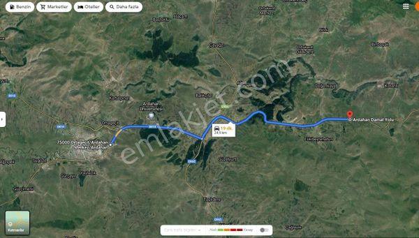 Sahibinden   Ardahanda Gürcüstan yol u 25.kmde yol a cephe yol a sıfır tarla
