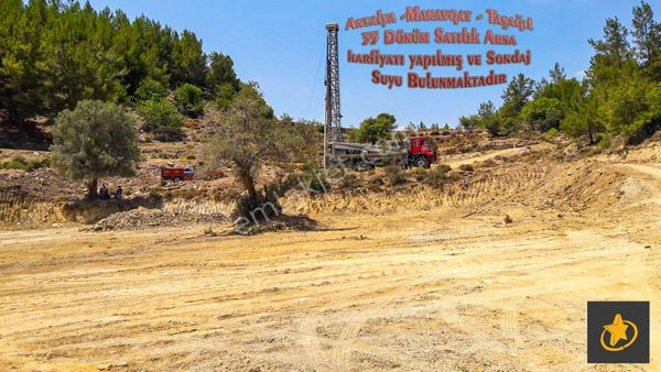 Antaya Manavgat Taşağıl Mevki Satılık Arsa 35 dönüm 3.300.000 TL