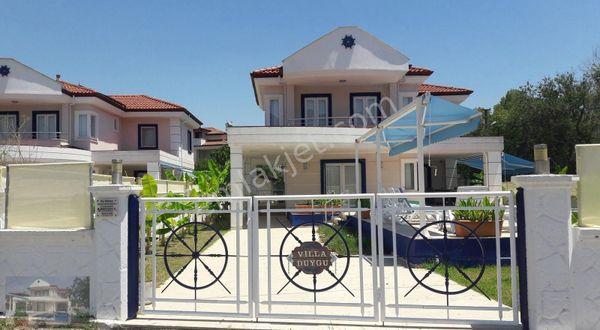 Muğla Dalyan'da 4+1 Müstakil Havuzlu Lüks Venedik4 Tatil Villası