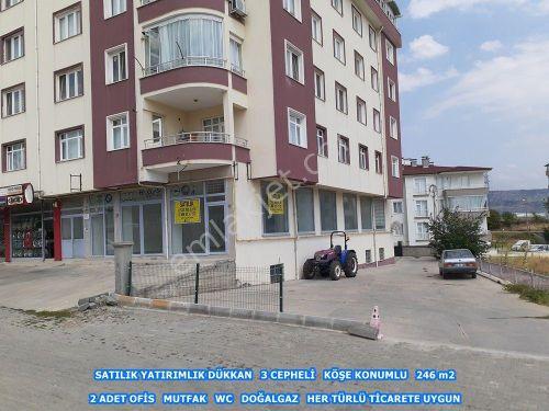 GALERİ BASRİ EMLAK - TOSYA D-100 KAVŞAĞINDA SATILIK DÜKKAN