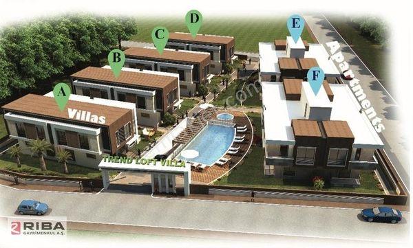 Riba Seyit Ali Barlas'tan Lara Güzeloba'da 4+1 Satılık Villa