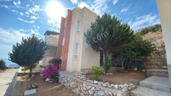 Didim Akbük'te satılık Full deniz manzaralı müstakil ev