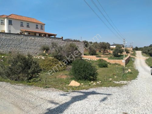 Didim  Yeşiltepede Köşe Villa Arsası